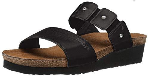 Naot Footwear Women's Ashley Black Madras Lthr 8 M US -  04906_030