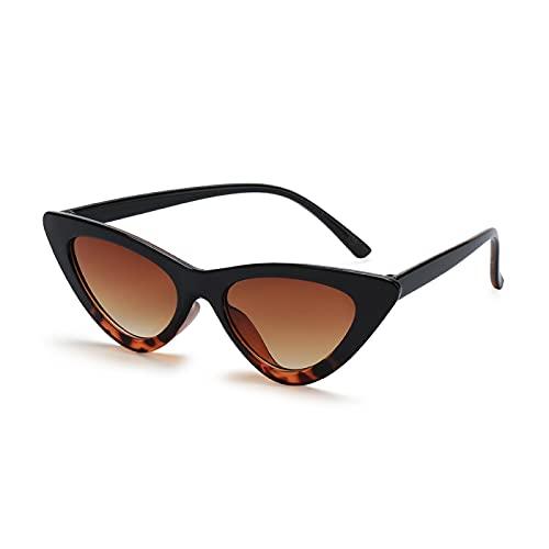 ShSnnwrl Gafas Sol De Hombre Mujer Polarizadas Sunglasses Moda Ciclismo Mujer Gafas De Sol De Montura Pequeña Ojo De Gato Gafas De Sol Uv4