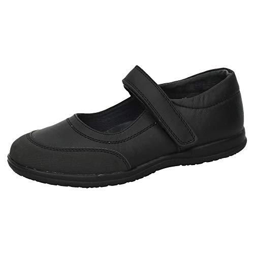 BONINO G01A-12 Zapatos Colegiales NIÑA Zapato COLEGIAL Negro 36