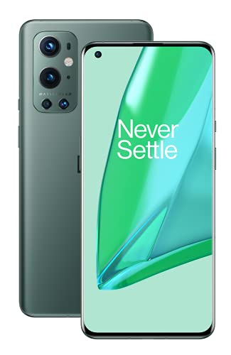 OnePlus 9 Pro 5G 256GB Pine Green [17cm (6,7') Fluid AMOLED Display, Android 11, 50MP Quad-Kamera]
