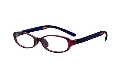 FLOAT READING フロート リーディング (老眼鏡) テンプル(腕)のカラーを選べる グッドデザイン賞受賞のオシャレな老眼鏡 鯖江企画 驚きの掛け心地 首にも掛けれる ブルーライトカット 超軽量 モデル:アメジスト (アメジスト   ネイビー,