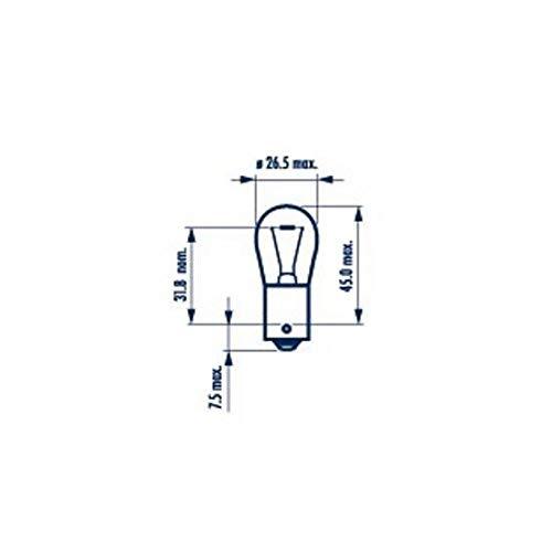 1 x Narva Autolampe P21W / 21W / 24V / BA15S / Bulb Automotive