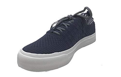 Blowfish Malibu womens Mazaki Sneaker, Denim Blue Knit, 10 M