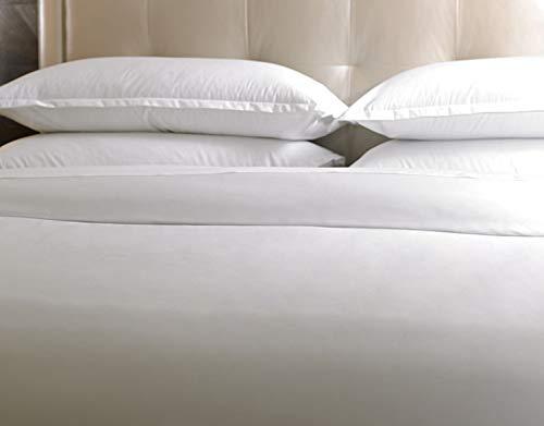Sheraton – Bettbezug – 80 Fäden/cm² – exklusiv, weiß, 260 x 240 cm