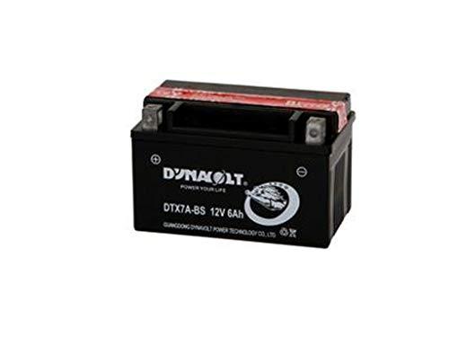 Batterie 12V 6Ah, YTX7A-BS, DIN 50615, mit Säurepaket