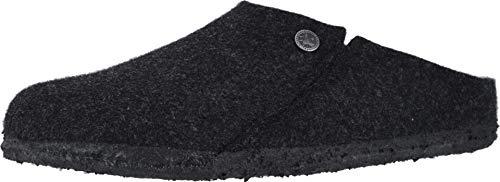 Birkenstock Womens Zermatt Clogs, Anthracite Wool Shearling, Size 40 N EU (9-9.5 N US Women)