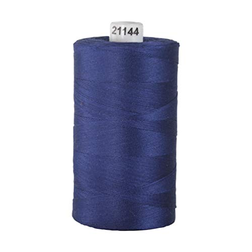 Connecting Threads 100% Cotton Thread - 1200 Yard Spool (Persian Blue)
