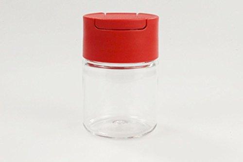 TUPPERWARE Manhattan Mini Außgieser 130 ml rot Öl Gewürze Zucker Streuer 27964