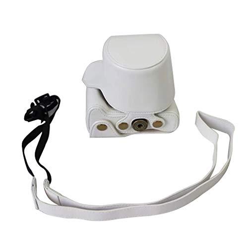 Catyrre Kameratasche aus PU-Leder für Canon EOS M10 M100 15-45 mm Kamerazubehör