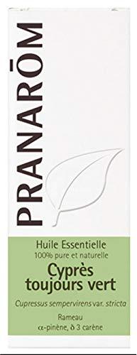 Pranarôm Cyprès de provence Huile Essentielle Cupressus sempervirens var. stricta Rameau HECT 5 ml