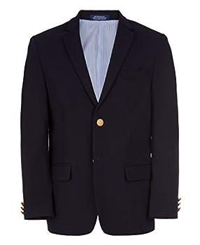 IZOD Boys  Big Brass Button Blazer Jacket Blue Indigo 20