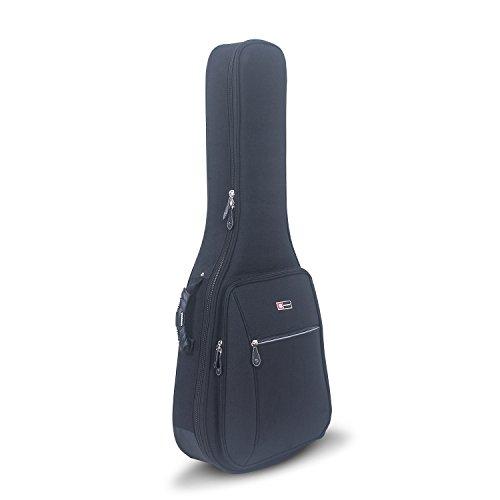 Crossrock CRDG105CBK Case Deluxe Classical Guitar Gig Bag, Black