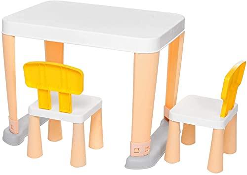 Archile Silla de escritorio para niños Sistema para niños Escritorio y silla Conjunto Estudio multifuncional Estudiante Ajustable Tabla Niños Escribir escritorio Combinación de papelería Fuentes de pa