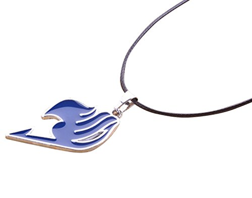 NuoYa005 New Costume Anime FAIRY TAIL Natsu Dragneel Guild Cosplay Blue Pendant Necklace by NuoYa