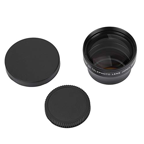 BOLORAMO Kameraobjektiv Teleobjektiv Kratzfest leicht und tragbar, für 37-mm-Objektivgewindekamera