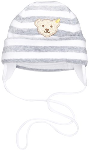 Steiff 2850 Bonnet, Gris (Softgrey Melange 8200), 43 Mixte bébé