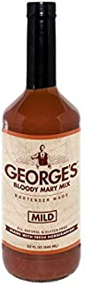 George's Bloody Mary Mix Mild (2 Pack of 32 Oz. Bottles)