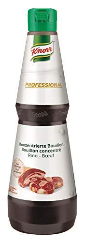 Knorr Professional konzentrierte Bouillon Rind (flüssig, 30 g Bouillon genügen für 1 L Wasser) 1er Pack (1 x 1L)