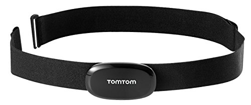 TomTom Fascia Cardio Compatibile con Orologi GPS Runner, Multi-Sport e Altri Dispositivi Bluetooth Smart Ready, Nero