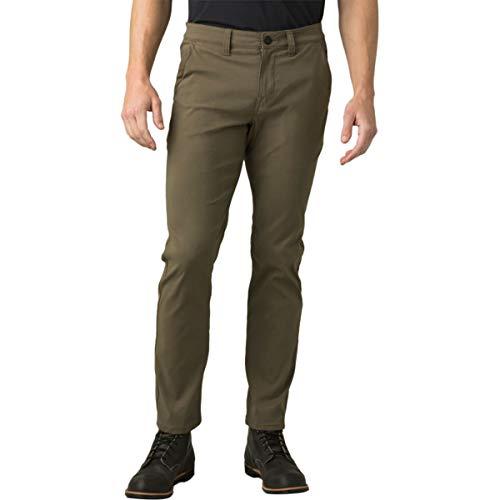 prAna Zion Chino Pants Slate Green 33 30