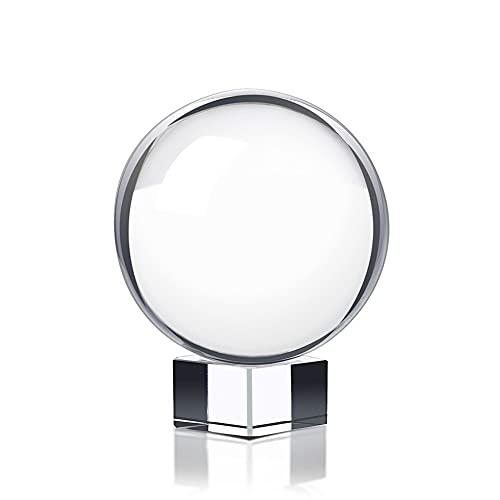 La Sfera di Vetro di Cristallo 80mm la Fotografia della Terra nessun Graffi la magia della Sfera del Gemma Artigianale (80mm) (80mm)