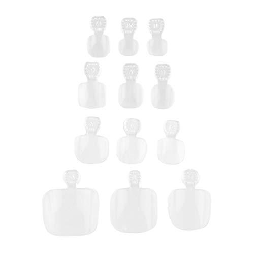 Uñas Postizas Transparente marca Beaupretty