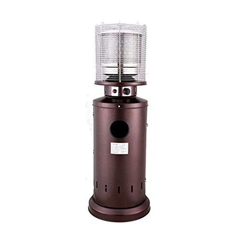 LXING Gas Heater Outdoor Home Essential Outdoor Gas Patio Heater - Out Door Gas Heater Tall Standing Patio Heater Gas Heater for Garage (Color : Natural Gas Type)