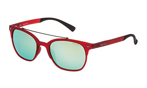 Police SK046516F5V Gafas de sol, Rojo, 51 para Hombre