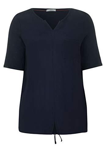 Cecil Damen Shirt im Tunika-Style deep Blue XS