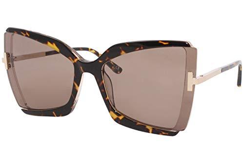 Gafas de Sol Tom Ford GIA FT 0766 HAVANA/BROWN 63/19/135 mujer