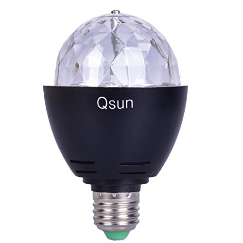 Qsun LED Rotating UV Blacklight Bulb review