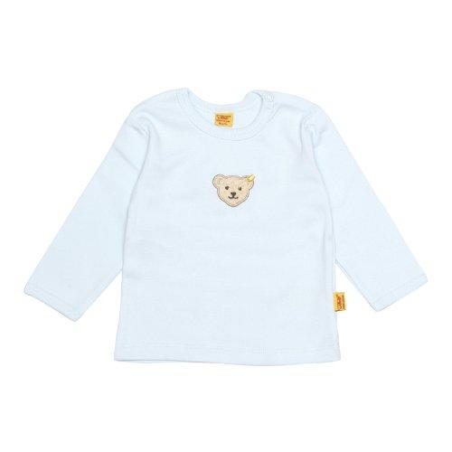 Steiff Unisex - Baby Sweatshirt 0006671, Gr. 86, Blau (3023)