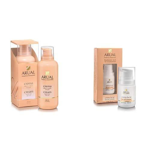 Arual Crema 400Ml + Hyaluronic Acid Crema Facial 50 ml