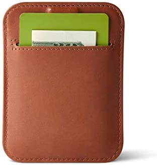 Distil Union Wally Sleeve Genuine Leather Slim Wallet Credit Card Holder Brown product image