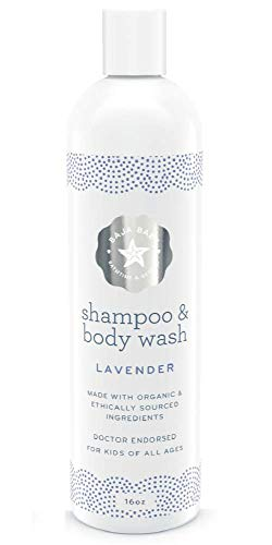Product Image of the Baja Baby Shampoo and Body Wash Lavender - An Organic Kids Shampoo with...
