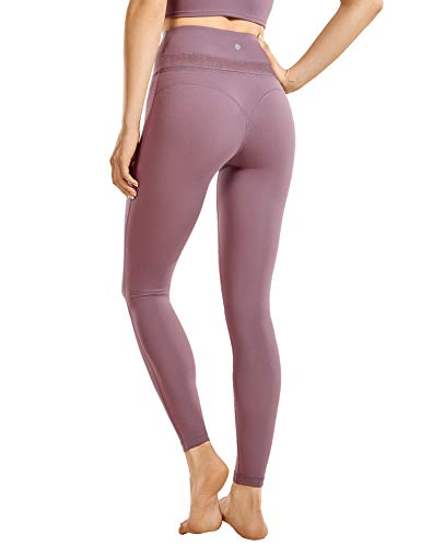 CRZ YOGA Women's Reflective High Wa…