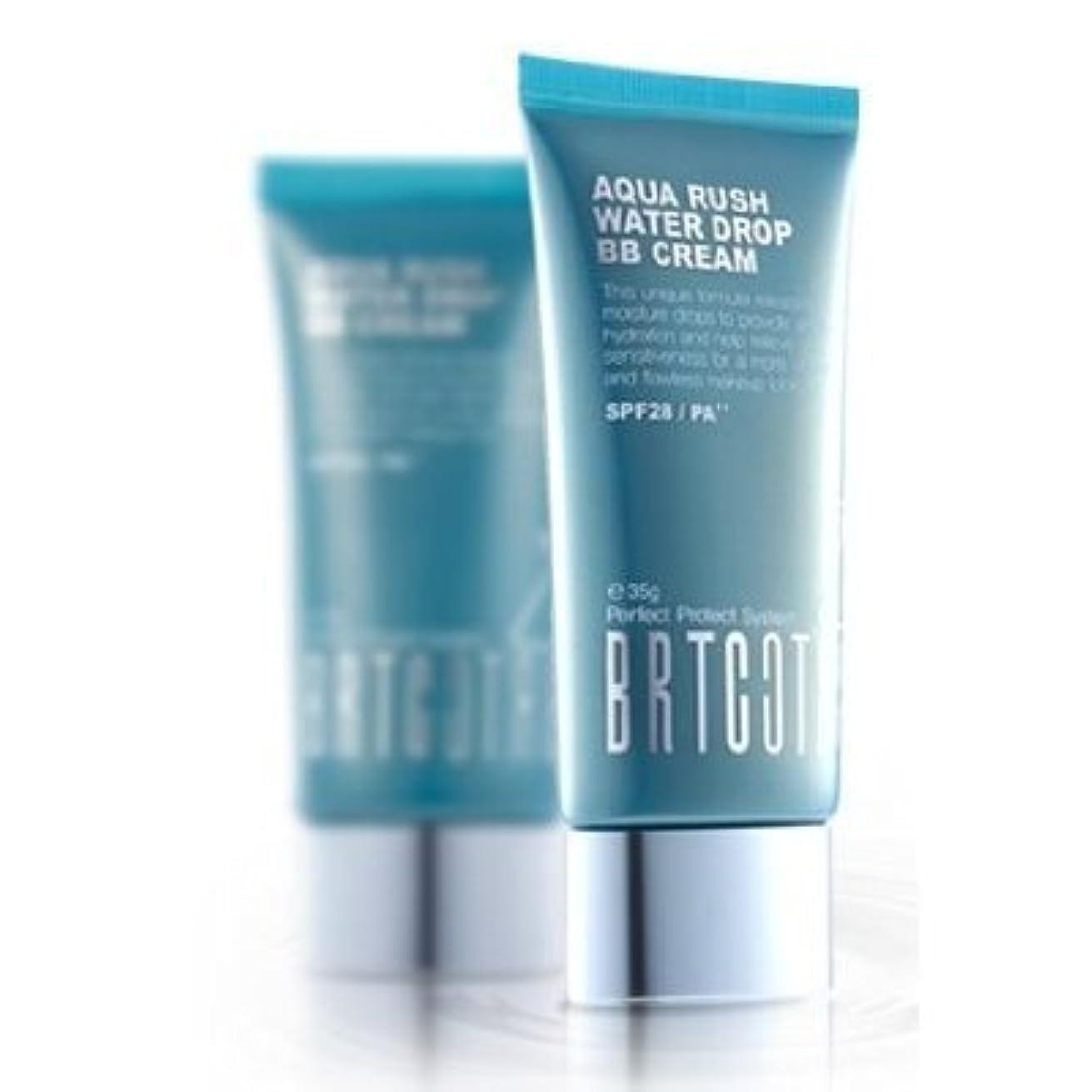 かご春選択するKOREAN COSMETICS, BRTC, Aqua Rush Water Drop BB Cream 60g (intensive moisturizing, skin tone correction, UV protection...