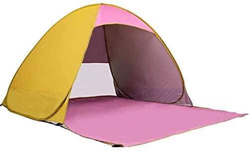 Tienda Familiar Camping Tienda De Campaña Portátil Ligera para 3 A 4 Personas Tienda De Exteriores De Tamaño Grande 230 * 200 * 130 Cm Azul (Color: Azul, Tamaño: 230 * 200 * 130cm)