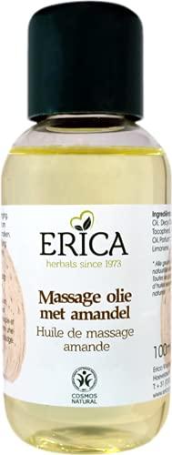 Erica - aceite de masaje de almendras - 100 ml