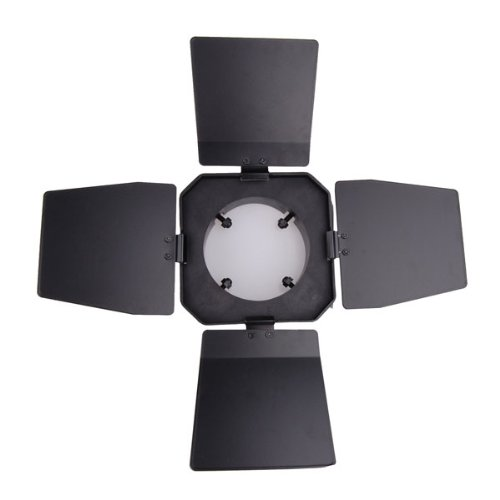 "Barn Door & Honeycomb Grid & Gel Set for Bowens Flash 5.5"""