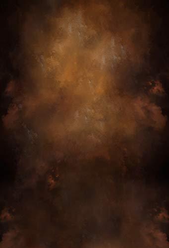 WaW 1.5x2.2m Dunkelbraun Ölmalerei Studiohintergrund Fotografie Vintage Porträt Stoff Fotohintergrund Kulisse Kinder