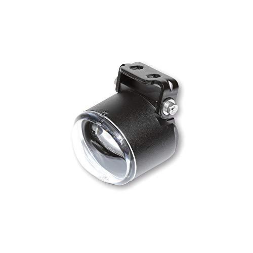HIGHSIDER LED-Nebelscheinwerfer, oval, schwarz, hängende Befestigung, E-geprüft