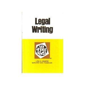 Legal Writing in a Nutshell (Nutshell series)