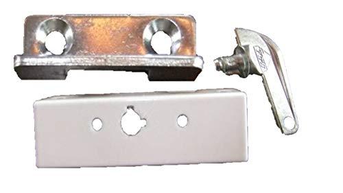 Roto Drehsperre mit Steckschlüssel, Farbe Weiß - Fenstersicherung - Kindersicherung