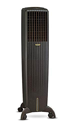 Symphony Diet 50i Tower Air Cooler with Remote, Multistage Air Purification, Honeycomb Pad - 50L, Black