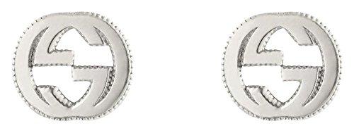 Gucci Damen-Ohrstecker INTERLOCKING 925 Silber - YBD47922700100U
