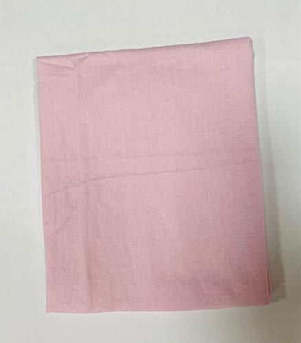 Sábana bajera con esquinas con capucha con elástico en todo el perímetro para cama de matrimonio (rosa)