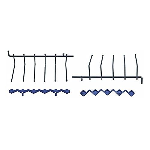 ORIGINAL Bosch Siemens 00489466 489466 Geschirrkorb Korb Bodenkorb Korbeinsatz für Oberkorb 2 Stück Glasablage Gitter Spülmaschine Geschirrspüler