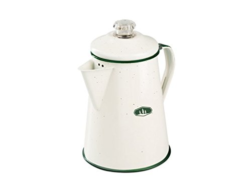 GSI Outdoors - Emaille Perkolator 1,2 L, Creme-Weiss