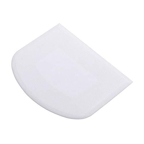 SmallPocket Teigschaber Kunststoff Teigspachtel mit Schabekante Backen wie die Profis ideal als Teigkratzer oder Teigteiler Küchenbackwerkzeuge